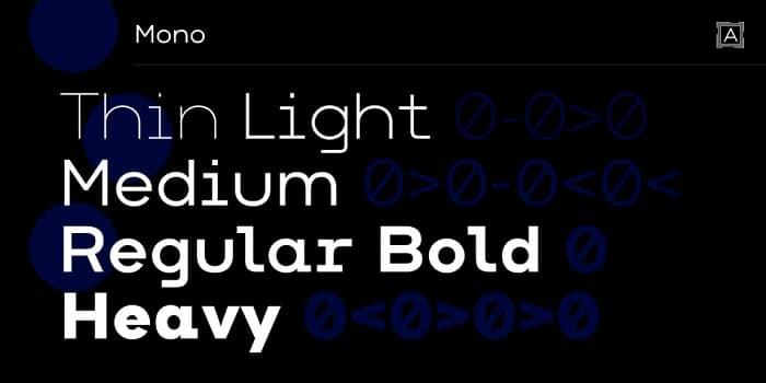Arkibal Mono Font Family Free Download