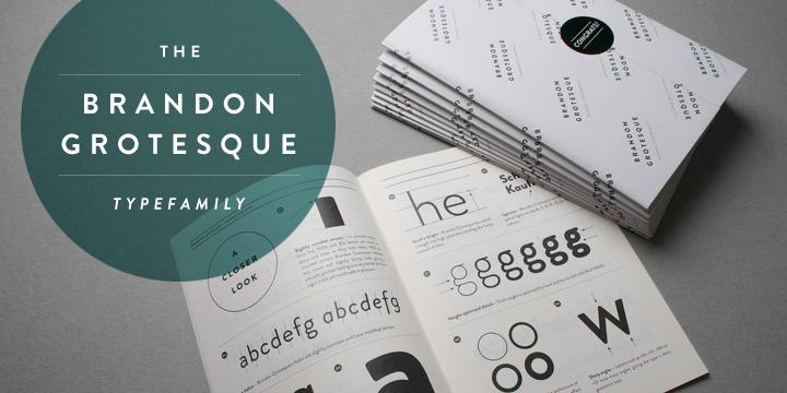 Brandon Grotesque Font Family Free Download