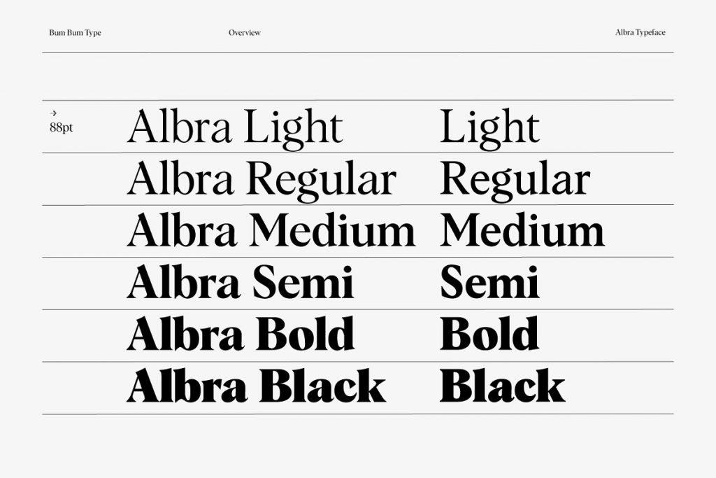 Albra Text Collection 3 - Post