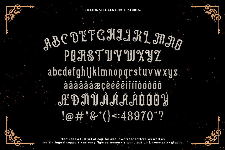 Billionaire Font Free Download 1 - Post