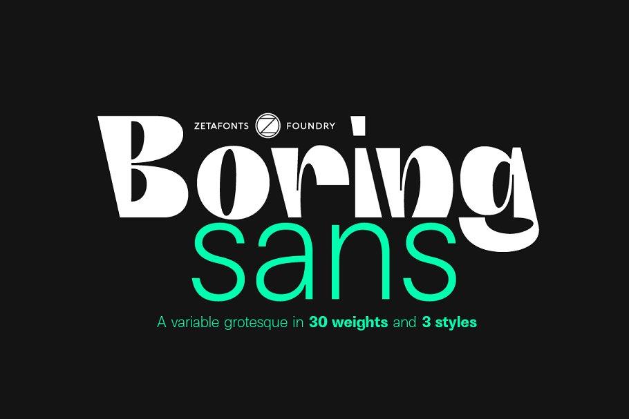 Boring Sans 2 - Post