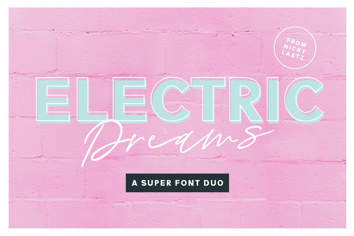 ElectricDreamsFont 22 - Post