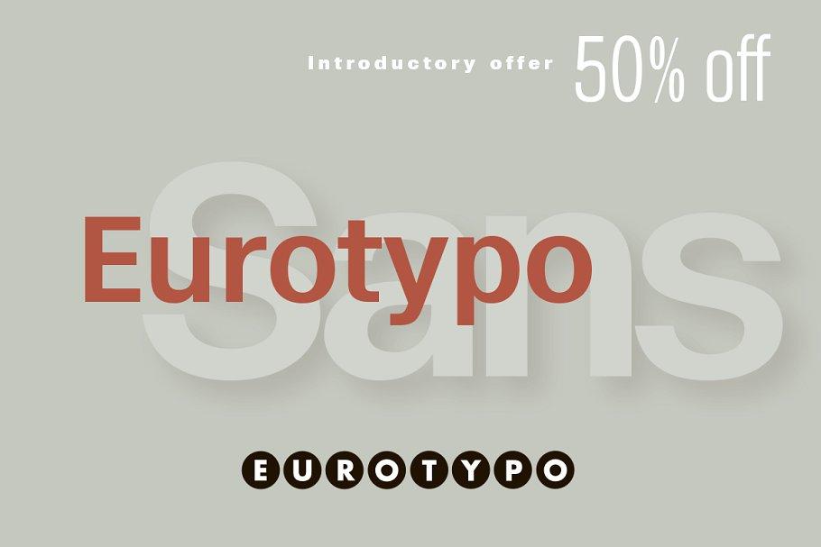 Eurotypo Sans 2 - Post