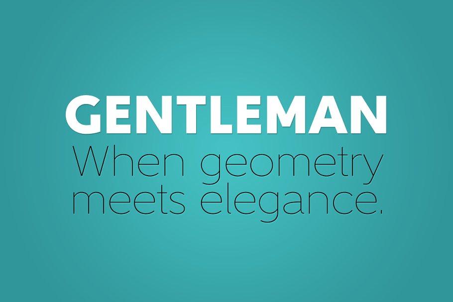 Gentleman Complete Family 2 - Post