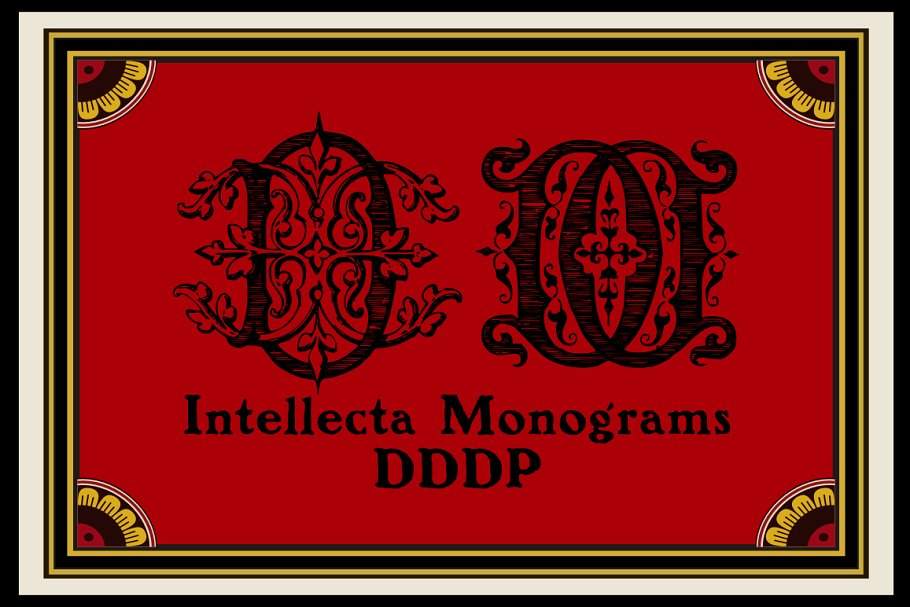 Intellecta Monograms Collection 1 - Post