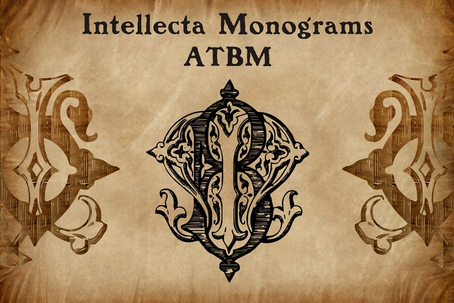Intellecta Monograms Collection 4 - Post