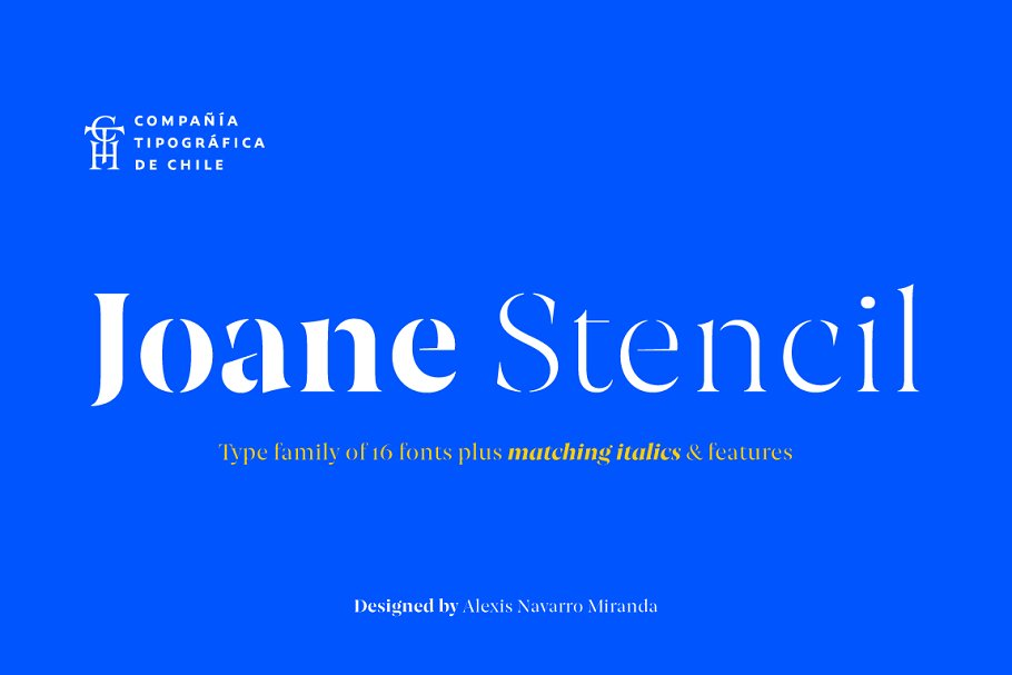 Joane Stencil 2 - Post