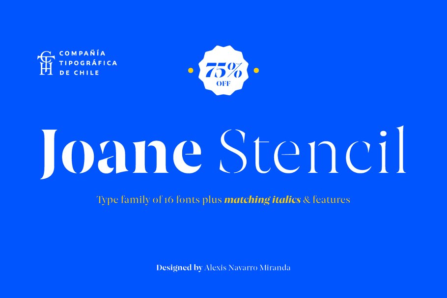 Joane Stencil 3 - Post