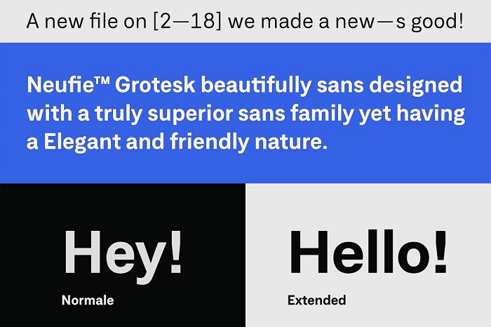 Neufile Grotesk 3 - Post