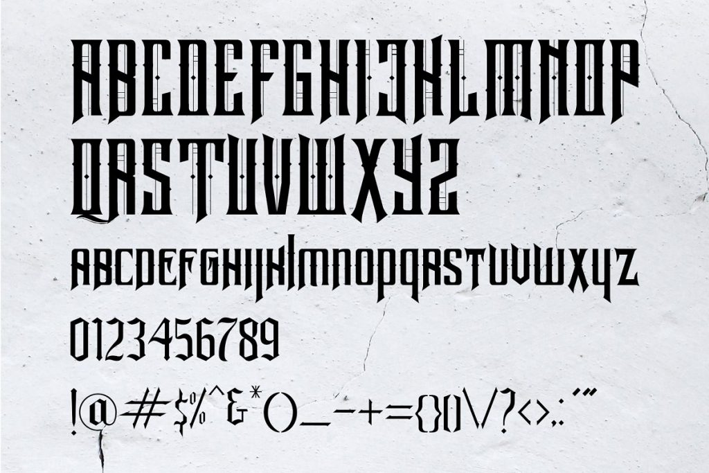 Neurotic Font Free Download 5 - Post
