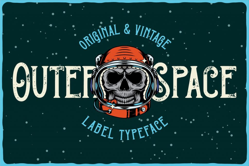 Outer Space Font Family Free Download 4 - Post