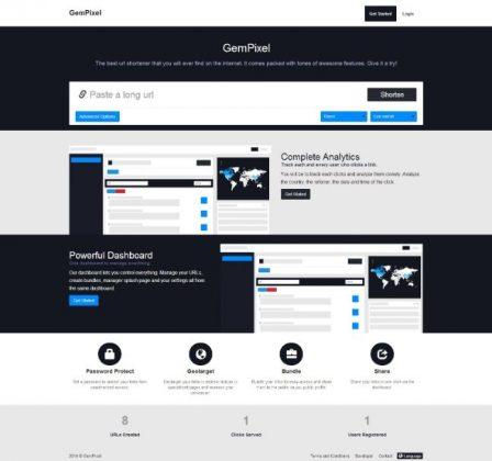 Premium URL Shortener 1 - Post