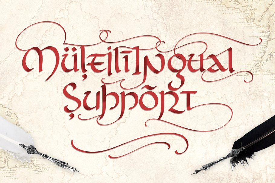 Rivendell Full magic Font Free Download 5 - Post