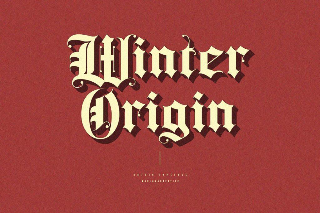 Rozex Bold Decorative Gothic Font Free Download 2 - Post