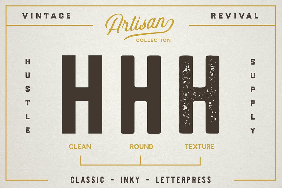 The Artisan Collection Font