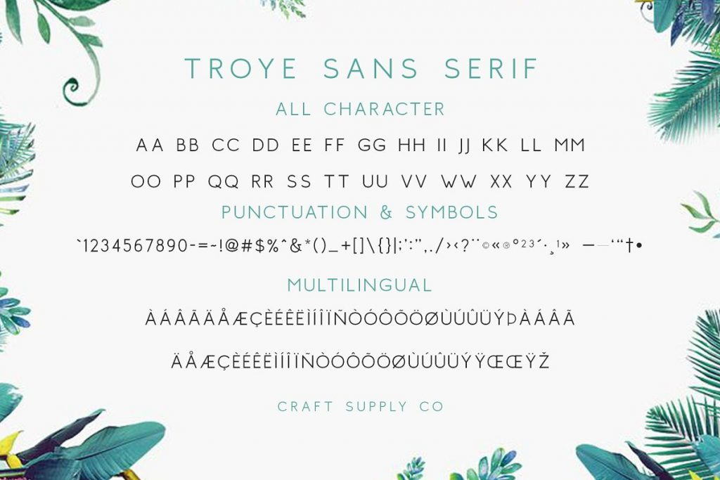TroyeFont 24 - Post