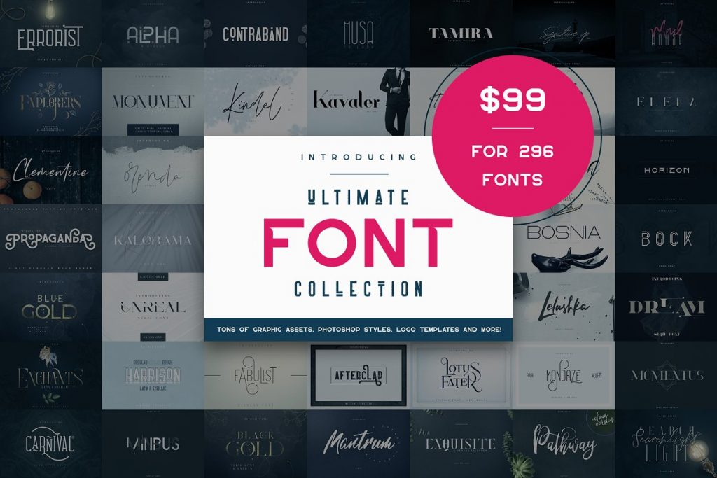 Premium Ultimate Font Collection