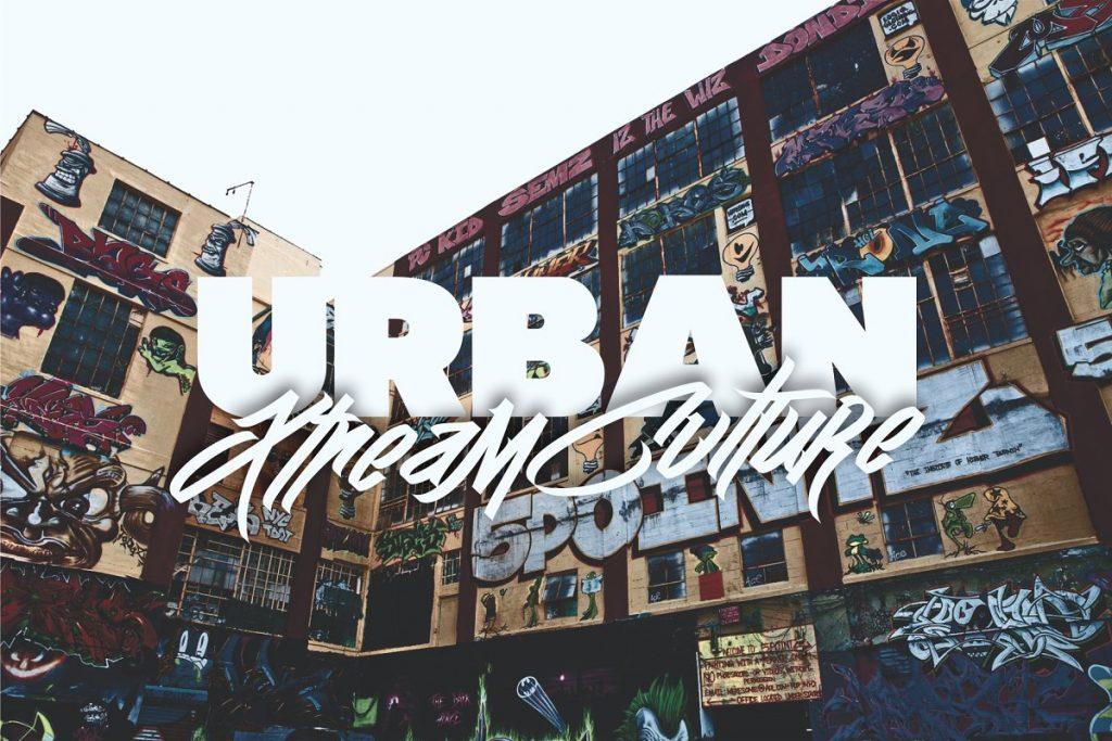Wall Hunter II Graffiti Tag Font Free Download 5 - Post