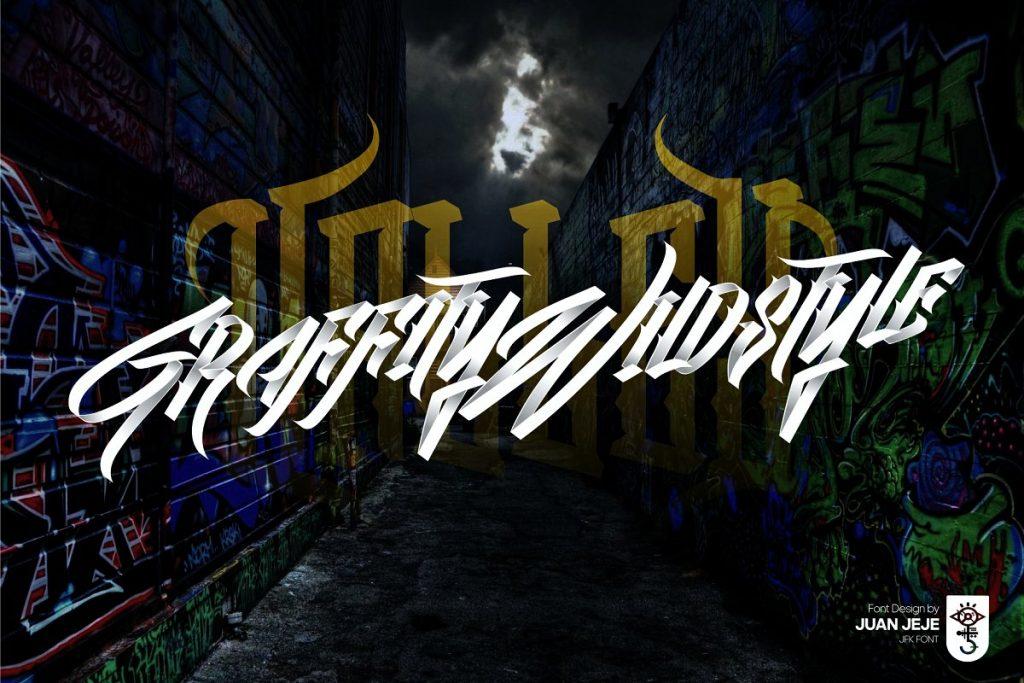 Wall Hunter II Graffiti Tag Font Free Download 6 - Post