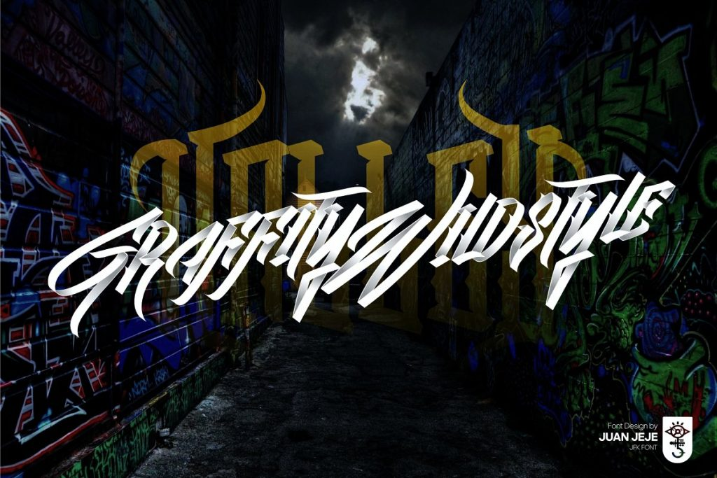 Wall Hunter II Graffiti Tag Font Free Download 6 - Post