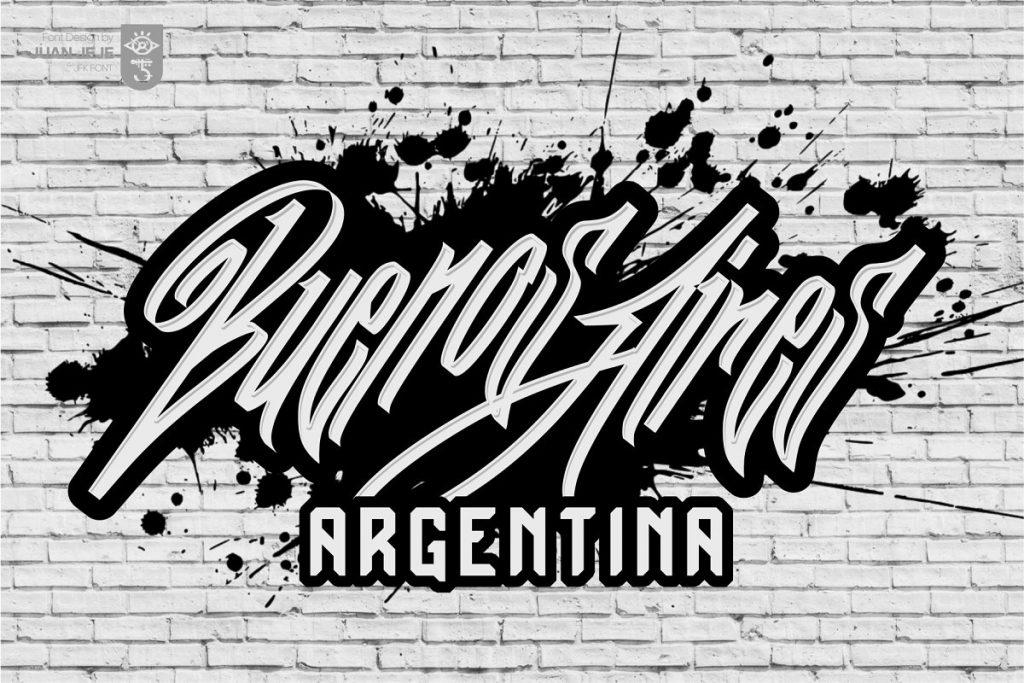 Wall Hunters Graffiti Tag Font Free Download 4 - Post