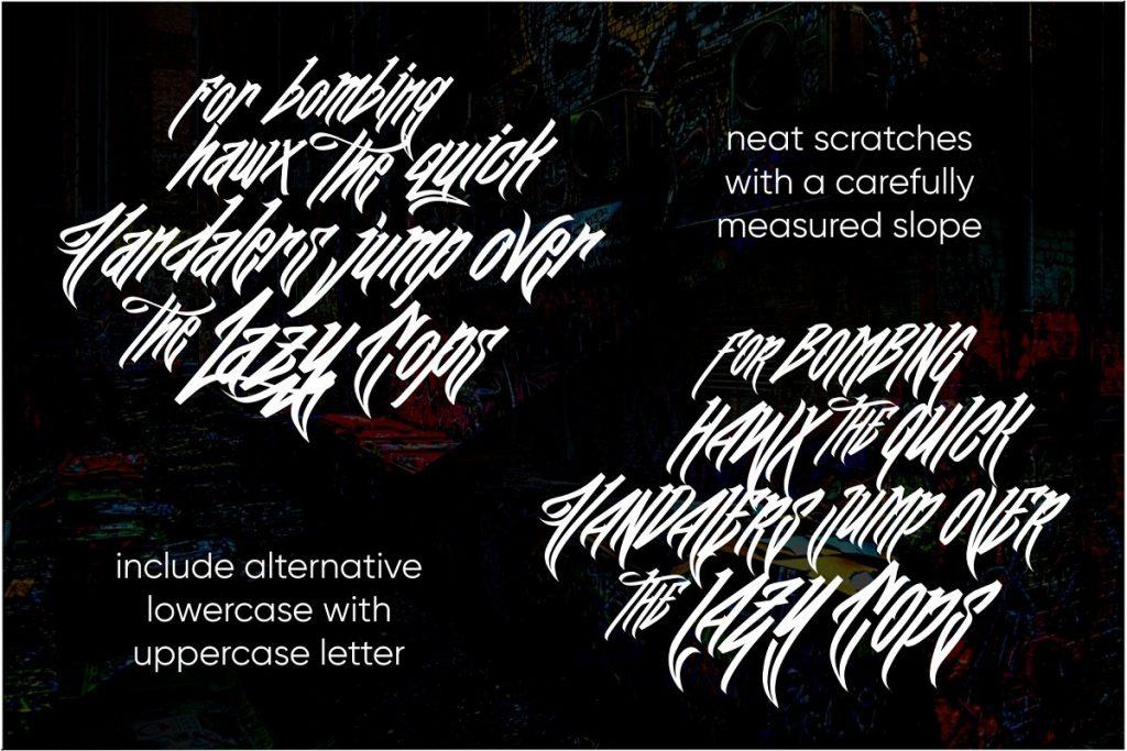 Wall Hunters Graffiti Tag Font Free Download 5 1 - Post