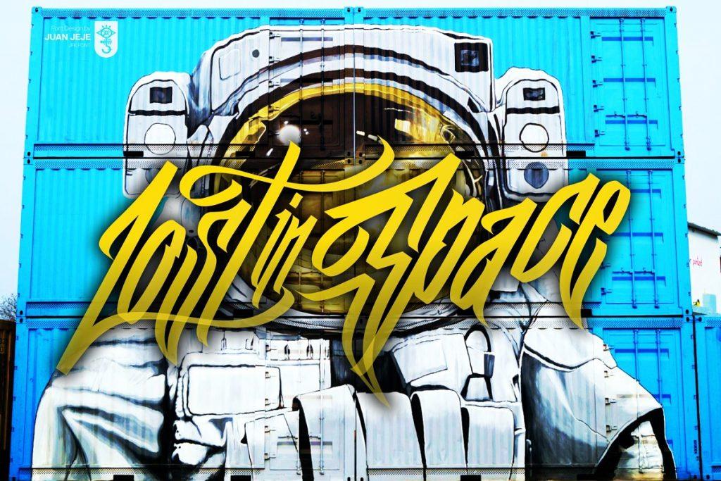 Wall Hunters Graffiti Tag Font Free Download 6 - Post