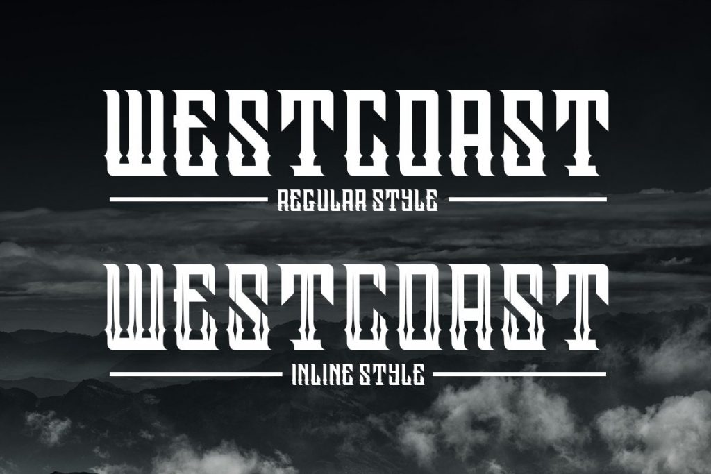 Westcoast Family Font Free Download 2 - Post
