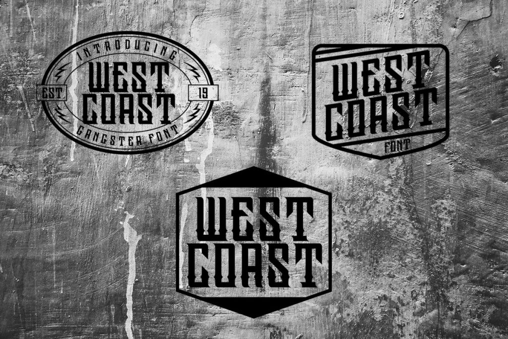 Westcoast Family Font Free Download 5 - Post