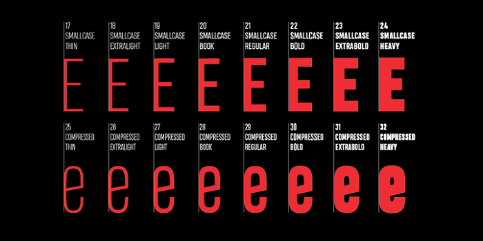 Heading Pro Font Family Free Download