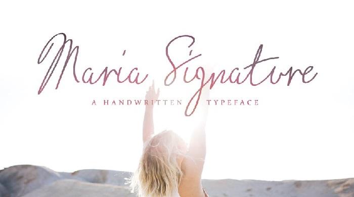 Premium Signature Fonts
