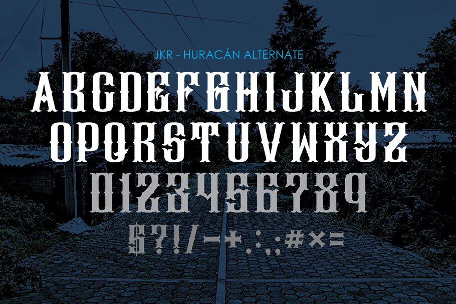 HURACÁN Font Family Free Download