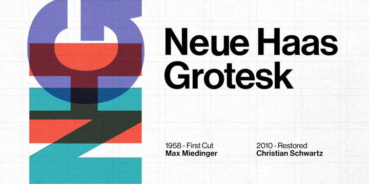 Neue Haas Grotesk Font Family Free Download