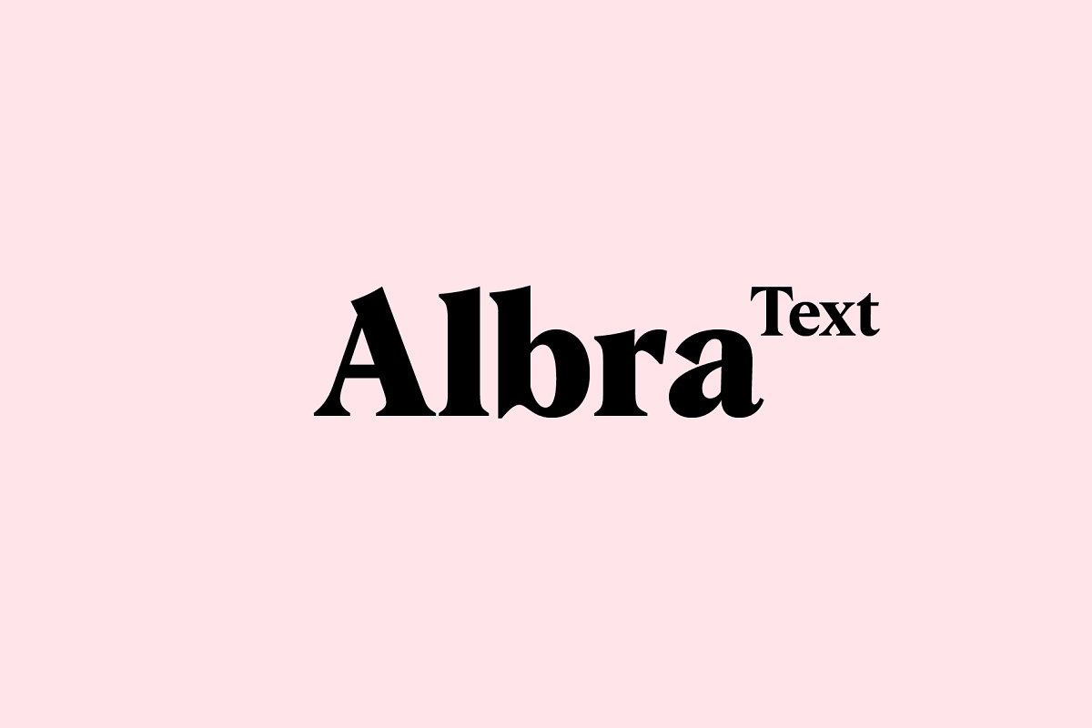 Albra Text Collection Font Free Download
