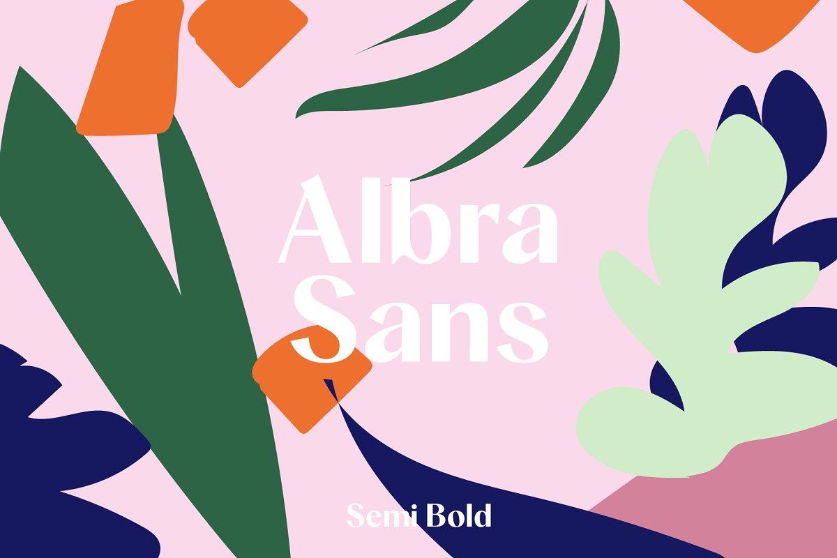 Albra Sans Semi Bold Font Free Download