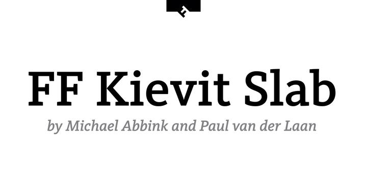 FF Kievit Font