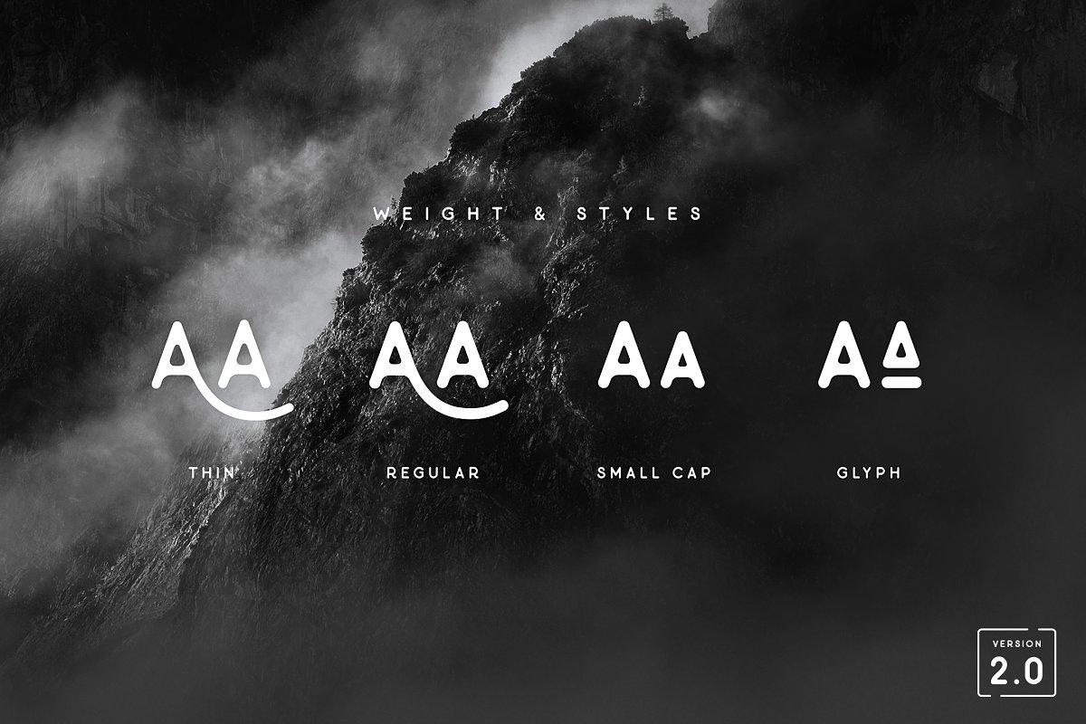 Minimalust Typeface
