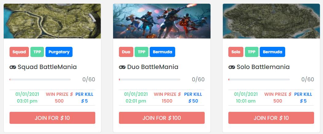 free fire tournament - Post