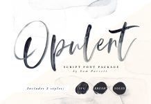 Opulent Font Family Free Download