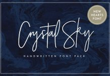 Crystal Sky Font Family Free Download