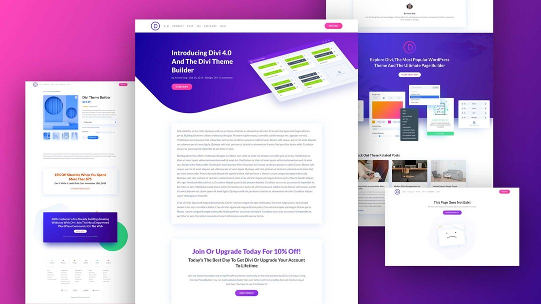 Free Download Divi Theme v4.6.1 [With Activation Key]