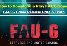 Download and Play FAUG Game