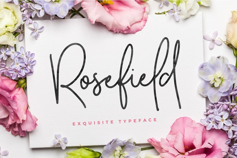 Rosefield font family free download