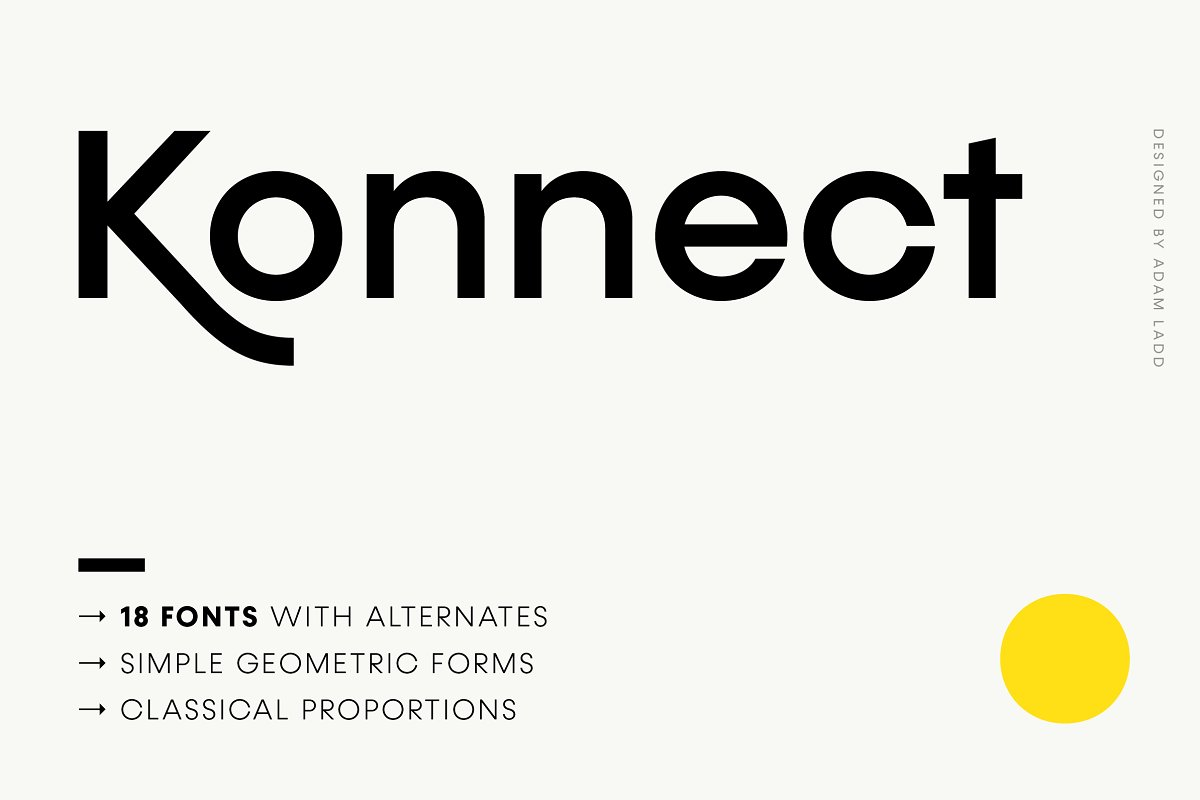 Konnect Font Family Free Download