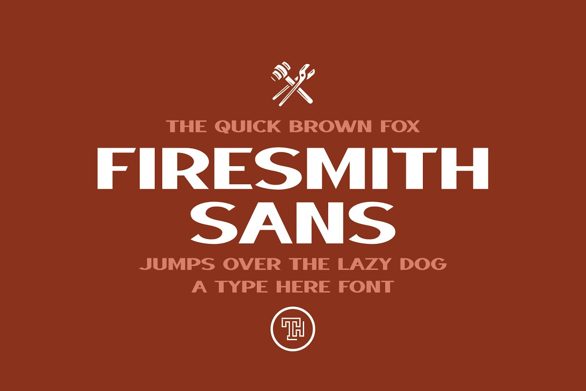 Firesmith Sans Font Family Free Download