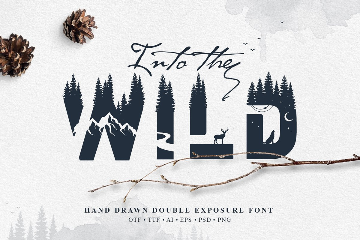 Into The Wild Font Family Free Download