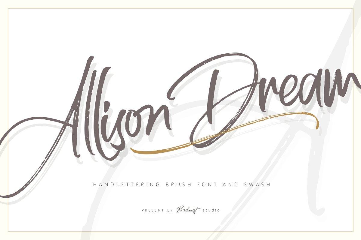 Allison Dream Font Family Free Download
