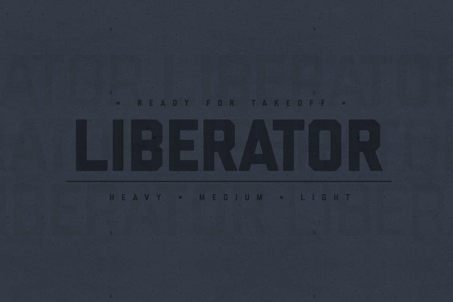 Liberator Font