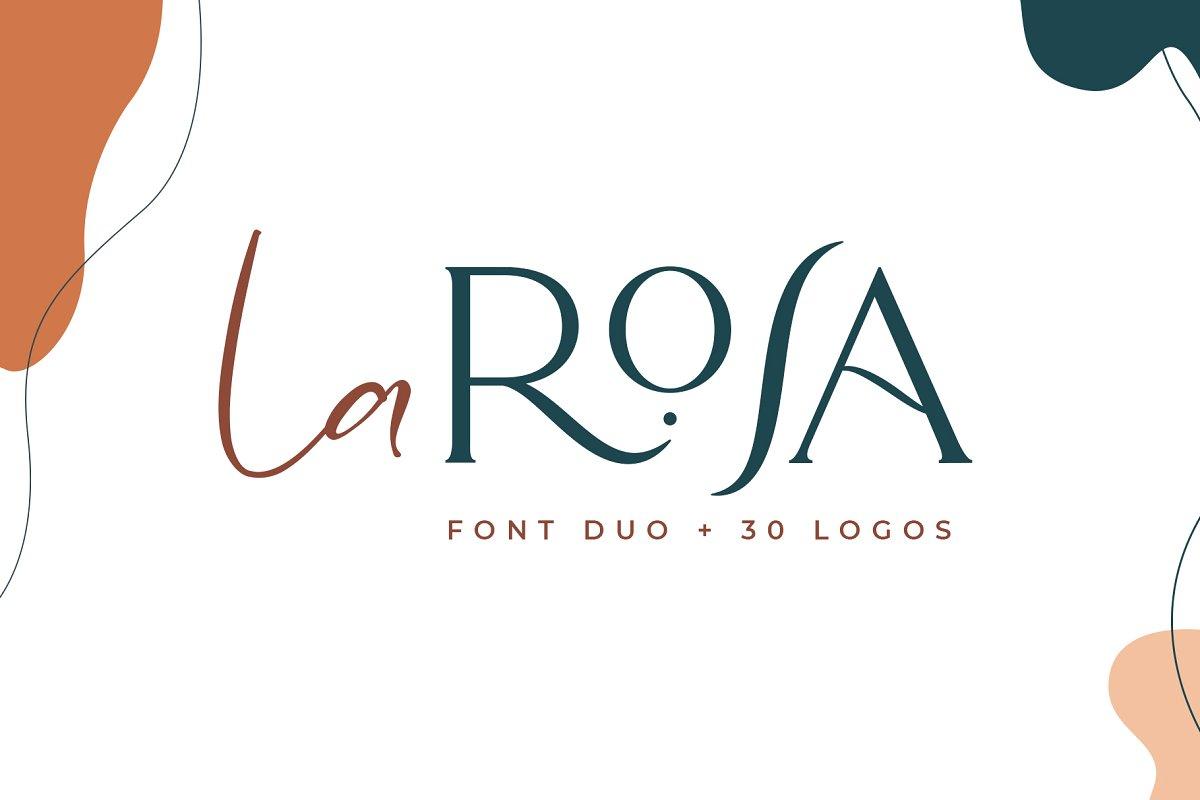 La Rosa Font Duo Free Download