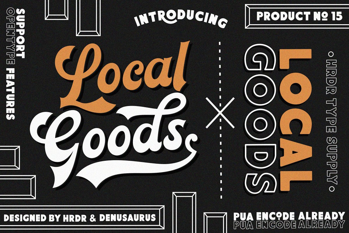 Local Goods Font Family Free Download